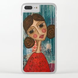 Coco's Closet - May You Live a Life You Love Clear iPhone Case