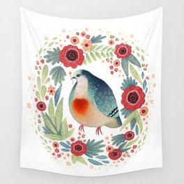 Fruit Dove I Wall Tapestry