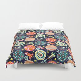 The Sky Isn't The Limit Duvet Cover