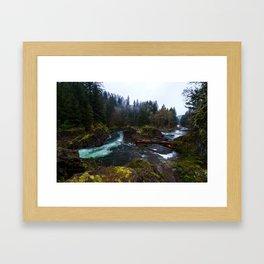 Lucia Falls Framed Art Print