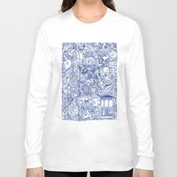 portugal Long Sleeve T-shirts featuring Portugal collage by Kaissa Kkaissa