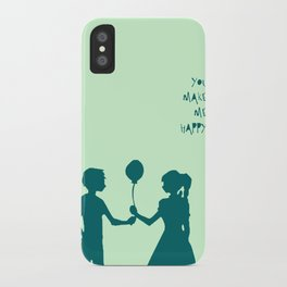 You Make Me Happy. iPhone Case