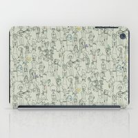 it crowd iPad Cases featuring crowd by Ed Hepp