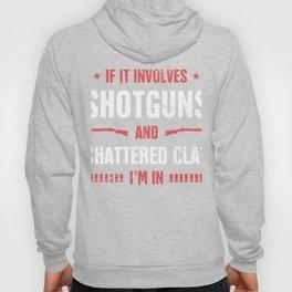 Shotguns And Shattered Clay - Skeet Shooting Hoody