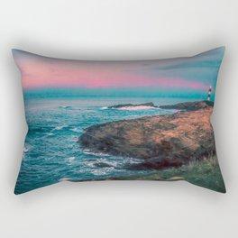 Lighthouse of the Isla Pancha Rectangular Pillow