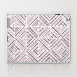 Herringbone Diamonds - Mauve Laptop & iPad Skin