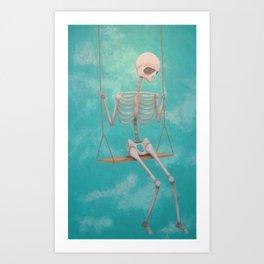 Swing Low, Sweet Chariot  Art Print