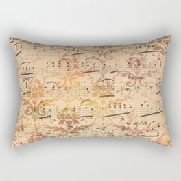 Vintage Ephemera 3 Rectangular Pillow