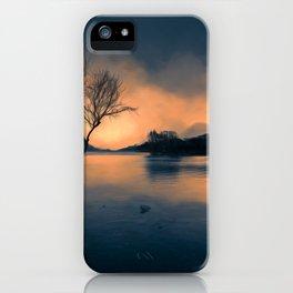 Lone Tree Snowdonia iPhone Case