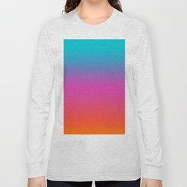 Technicolor Ombre Long Sleeve T-shirt