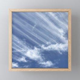 Legions Of Angels Filled The Sky Bringing Hope Framed Mini Art Print