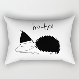 Fun Scandinavian Christmas art for techies Rectangular Pillow