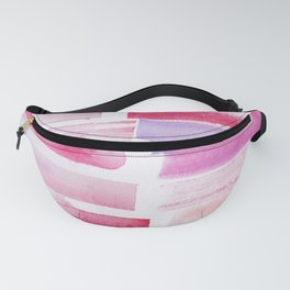 20 | 181101 Watercolour Palette Abstract Art | Lines | Stripes | Fanny Pack