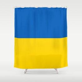 Flag of Ukraine Shower Curtain