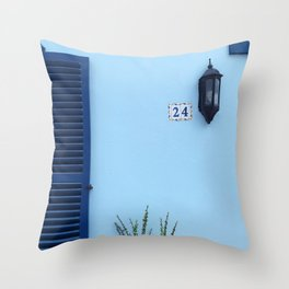 TURNED-OFF SCONCE Throw Pillow