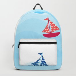 Boating Smooth Sailing Backpack