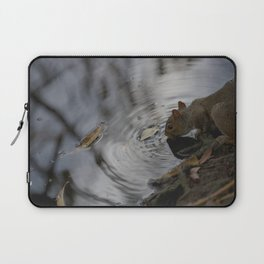 Sipping Squirrel Laptop Sleeve