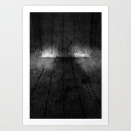 The Floorboards Art Print