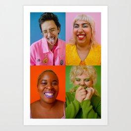 Queer Joy Art Print