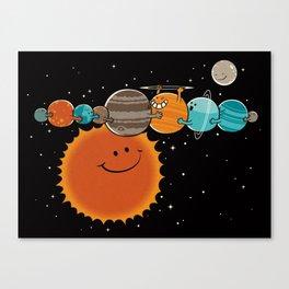 Zer0 Distance Hugz Canvas Print