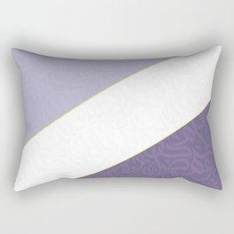 Arabic letters  purple Rectangular Pillow