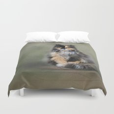 Rooftop Roost Duvet Cover