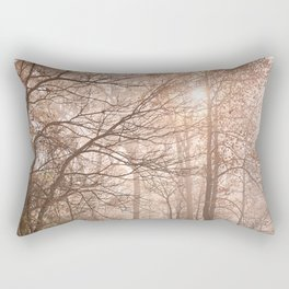 Misty North Point Trail Rectangular Pillow