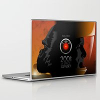 2001 Laptop & iPad Skins featuring 2001 - A space odyssey by Martin Woutisseth