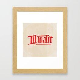 illmatic Framed Art Print
