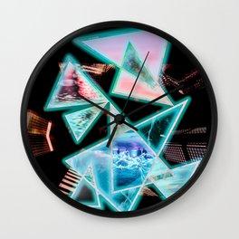 Leng Pattern 6iii Wall Clock