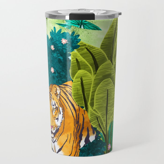 Jungle Tiger Travel Mug