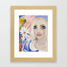 Alice in Wonderland, Alice Art Framed Art Print