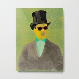 A Gentleman in A Suit Metal Print
