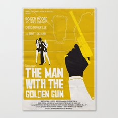THE MAN WITH THE GOLDEN GUN Canvas Print