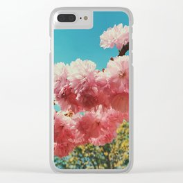 Spring Flowers in D.C. Clear iPhone Case