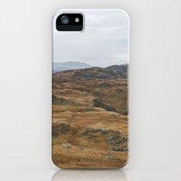 Irish Seaside Cliffs in Slieve League iPhone Case