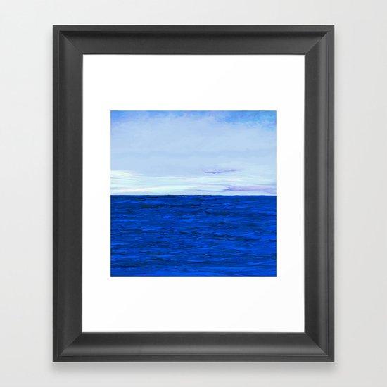& Jays Flew Above Framed Art Print