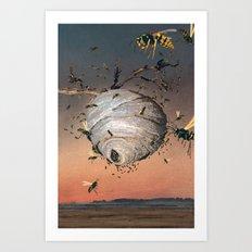 Paper Makers Art Print