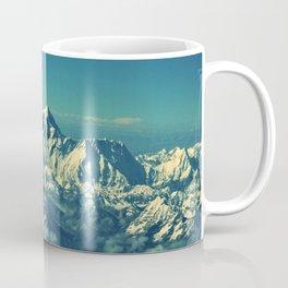 Mount Everest and surrounding mountain range Coffee Mug