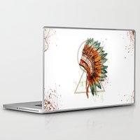 ethnic Laptop & iPad Skins featuring ethnic by limonlukusburnu