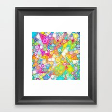 Sunny Bubbles on the Water Framed Art Print