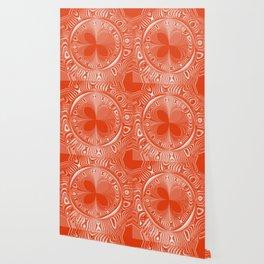 Terracotta Tile Wallpaper