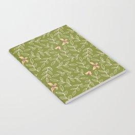 Leaves & Moths Notebook