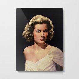 Grace Kelly, Hollywood Legend Metal Print