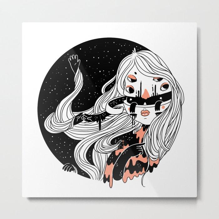 Within Metal Print