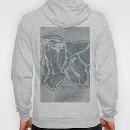 Beaver Mountain Resort Trail Map Hoody
