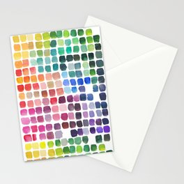 Favorite Colors Stationery Cards
