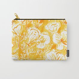 CALI POP Yellow California Poppies Carry-All Pouch