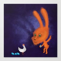 easter Canvas Prints featuring easter by Laurel