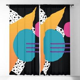 Memphis Pattern 35 / 80s - 90s Retro Blackout Curtain
